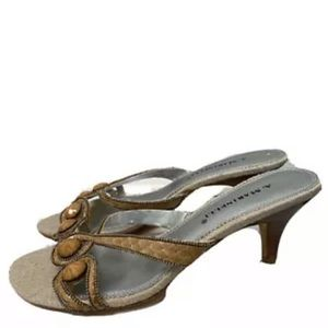 A. Marinelli Womens Shoes Slide Sandals Size 7.5